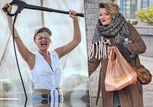 Jako Dáša v seriálu Most je herečka neskutečně sexy.