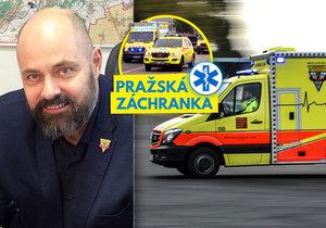 Petr Kolouch Blesku prozradil svůj pohled na minulost i vizi budoucnosti pražské záchranky.