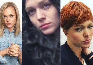 Ester Geislerová mění barvy vlasů jako chameleon.