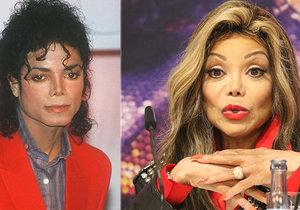 Sestra zpěváka Michaela Jacksona La Toya přiznala, že jeho rodina kryla jeho zneužívání chlapců, protože je živil.