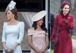 Vévodkyně Meghan a Kate