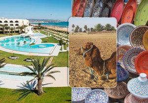 Léto uprostřed zimy najdete v Tunisku, láká plážemi i orientálním vnitrozemím...