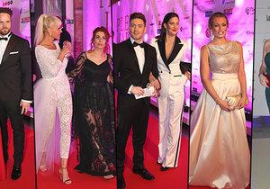 Ples jako Brno - nejluxusnější podnik sezóny si nenechaly ujít krásné ženy, slavné tváře a mocní muži