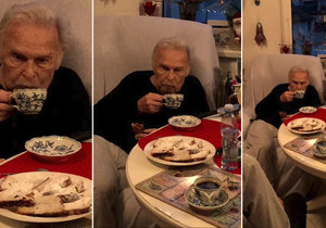 Martin Trnavský zachytil na video poslední Vánoce Luďka Munzara