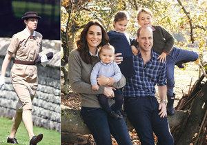 Děti prince Williama mají speciálně cvičenou vychovatelku!
