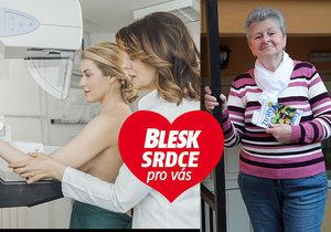 S rakovinou prsu svedla Daniela Kelišová (74) z Prahy boj už dvakrát: Pomohla ji organizace ALEN