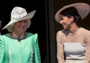 Vévodkyně Meghan a Camilla si evidentně rozumí.