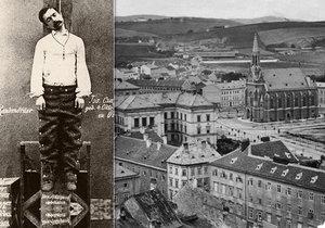 Poslední veřejná poprava na ulici: Řezník Josef Čapek zabil pacholka a ukradl mu kukuřici