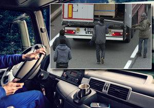 Český řidič vyfasoval dva roky za převážení uprchlíků