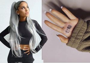 Ariana Grande a její nepovedené tetování