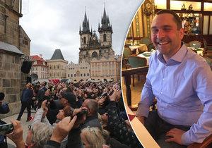 Vít Klouček provádí po Praze již 10 let. Za tu dobu zažil ve své práci několik změn.