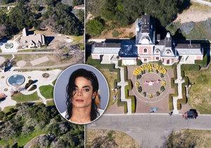 Ranč Michaela Jacksona je stále k mání.