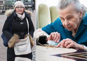 """Bývalá prodavačka Magda Váchová přiznává, že musí hodně počítat. Za kolik mají """"zasloužený odpočinek"""" ostatní Češi?"""