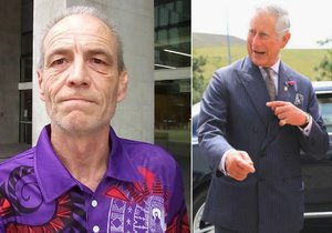 Simon Dorante-Day tvrdí, že je synem prince Charlese!