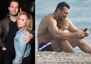 Hayden Panettiere je s novým přítelem v LA, zatímco Vladimir Kličko s dcerou na dovolené v Barbadosu