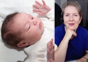 Miminko přišlo na svět na autobusové zastávce, s porodem pomohla operátorka Patricia