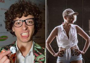 Jan Cina, který v seriálu Most! dabuje transsexuálku Dášu: Půl roku v nervech!