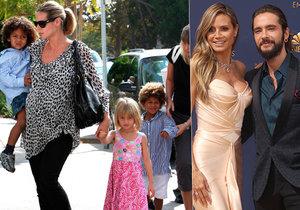 Topmodelka Heidi Klumová popáté těhotná? Tajemství propálil kamarád.