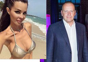 Slovenská modelka Silvia Kucherenko promluvila o údajném vztahu s milionářem Borisem Kollárem.