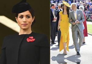Herec George Clooney se bojí o vévodkyni Meghan: Historie se opakuje, jako u Diany!