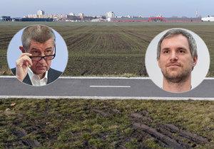 Premiér Andrej Babiš a pražský primátor Zdeněk Hřib vedou jednání o pozemcích v Letňanech.
