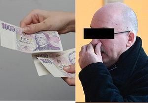 Bývalý policista měl podle obžaloby přijmout úplatek a zneužít svou pravomoc.