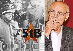 Pane, vy jste agent! Václav Vorlíček (†88) spolupracoval s StB pod krycím jménem Vašek