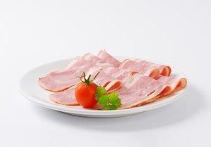 Test Blesku - anglická slanina