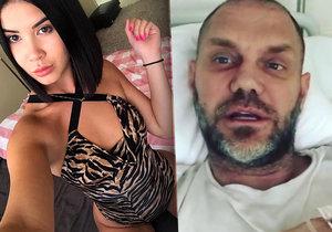 Pornoherec Nacho Vidal je údajně HIV pozitivní. Lady Dee se ale nákazy nebojí.