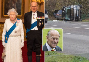 Princ Philip unikne trestu za nehodu! Nepomohla mu manželka královna Alžběta II. ale…