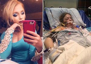 Tiffany umírá na cystickou fibrózu.