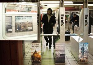 New York oslnila Česká republika. Ve zdejším metru reklamní kampaň oslovila 10 milionů lidí