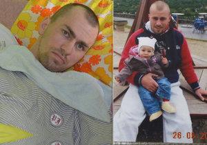 Marek s Diankou na jaře 2013 před drsným útokem rakouského Turka. Útočník stále uniká spravedlnosti.