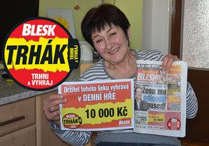 Další peníze z Trháku jdou na Litoměřicko: Zdeňka Trčková (66) odmění sebe i manžela!