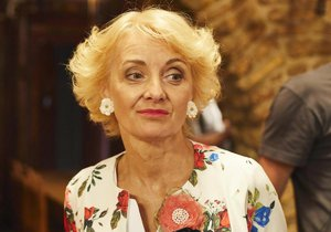 Veronika Žilková v seriálu Kameňák