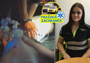 Dispečerka pražské záchranky Kristýna Březinová