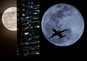 Superměsíc si vychutnali nejen Češi, ale i svět: Jersey City a Phoenix v USA (20. 2. 2019)