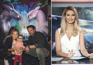 Sandra Parmová vzala malou dcerku do kina
