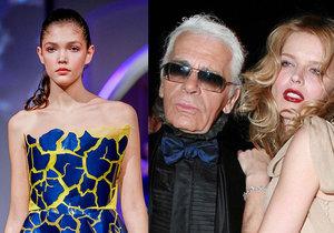 Odchod módní ikony Karla Lagerfelda († 85) oplakává i dcera šéfa Slavie Tvrdíka: Zlomilo mi to srdce!