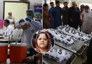 Na jihu Pákistánu zemřelo po jídle v restauraci pět malých dětí.