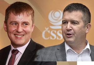 Ministr zahraničí Tomáš Petříček našel zastání u šéfa ČSSD Jana Hamáčka
