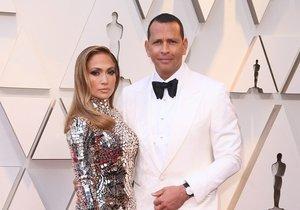 Zpěvačka Jennifer Lopez a Alex Rodriguez