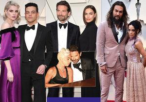 Podívejte se s námi na nejkrásnější slavné páry z udílení Oscarů!