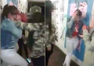 Šokující záběry brutální šikany: Školačky v Karlových Varech zmlátily mladší dívku