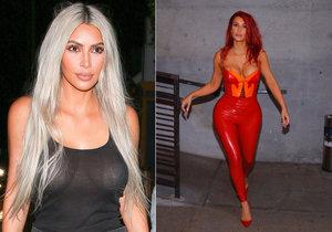 Kim Kardashian jak jste ji ještě neviděli! Radikální změna image!