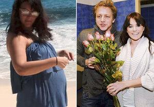 Tomáš Klus reagoval na těhotenství Ewy.