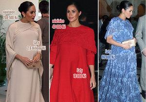 Těhotná vévodkyně Meghan v Maroku: Ve 3 dnech měla garderobu za 3,2 milionu!