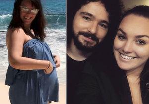 Ewa Farna má jen pár dnů do porodu svého prvního potomka.