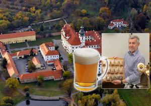Petr Janík vzkřísil při Břevnovském klášteru tradici vaření piva.