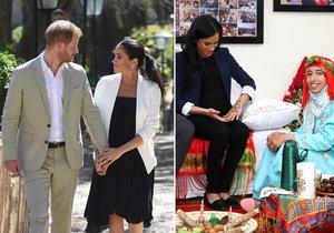 Těhotná Meghan se v Maroku nechala potetovat!